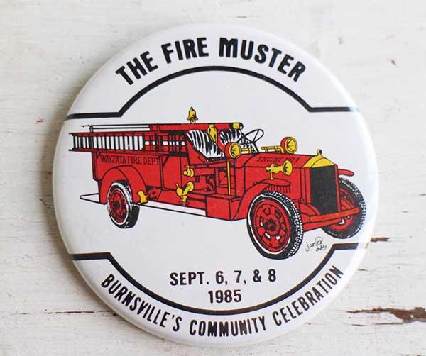コレクション, 缶バッジ 80s THE FIRE MUSTER USA