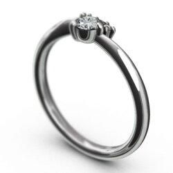 【送料無料】【_包装】天然ダイヤモンドエンゲージリング4月誕生石白金(プラチナ)900