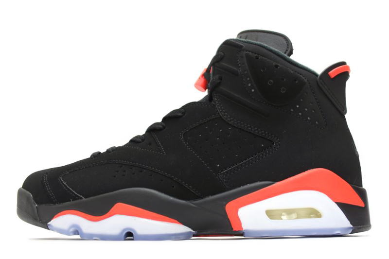 メンズ靴, スニーカー NIKE AIR JORDAN 6 RETRO BLACK INFRARED 2019 384664-060 6
