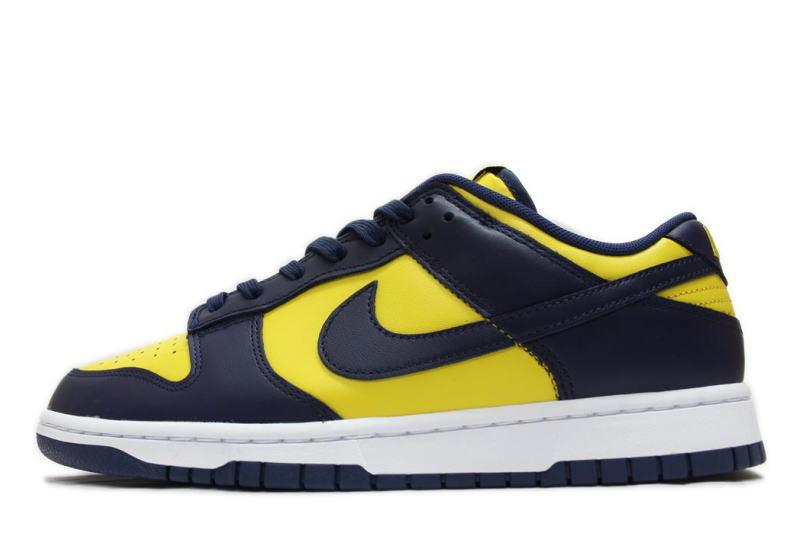 メンズ靴, スニーカー NIKE DUNK LOW RETRO MICHIGAN 2021 DD1391-700