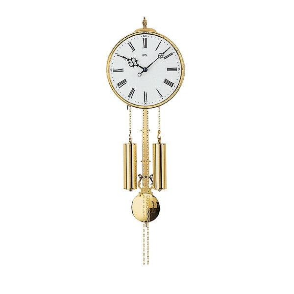 【正規輸入品】ドイツ アームス AMS 348 機械式 掛け時計 (掛時計) ベルつき ホワイト×ゴールド [大型サイズ] 【記念品 贈答品に名入れ(銘板作成)承ります】【熨斗印刷承ります】:時計のソフィアス