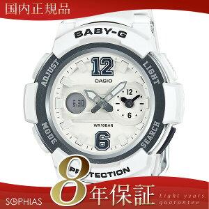 カシオベビーGCASIOBaby-Gホワイト腕時計BGA-210-7B1JF