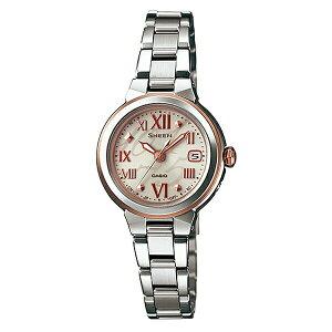 (長期保証5年付)カシオシーン電波ソーラーStarIndexSeriesレディース腕時計SHW-1508D-9AJF