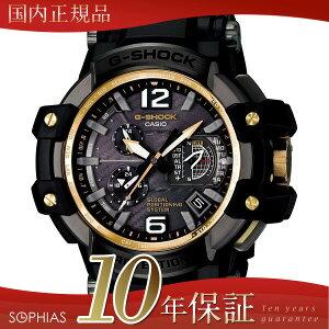 カシオGショック腕時計GPW-1000FC-1A9JFブラックGPSハイブリッド電波ソーラー