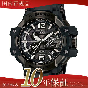 カシオGショック腕時計GPW-1000T-1AJFブラックGPSハイブリッド電波ソーラー