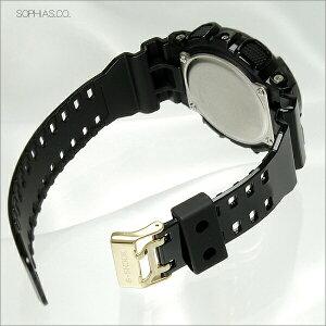 カシオGショック腕時計GA-110GB-1AJFブラック×ゴールドシリーズブラッククオーツ