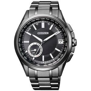 シチズンアテッサCITIZENATTESAエコ・ドライブGPS衛星電波時計F150ダイレクトフライトブラックメンズ腕時計CC3015-57E