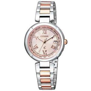 シチズンクロスシーCITIZENXCエコドライブ電波時計ティタニアラインハッピーフライトゴールドレディース腕時計EC1042-51A