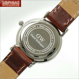 ダニエルウエリントンDANIELWELLINGTONクラシックセントアンドルーズシルバーレディース腕時計26mm0920DW[ST]