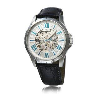 フルボデザインFurbodesignF5021オートマチック自動巻シルバーレザーベルトメンズ腕時計F5021SSIBL/538622