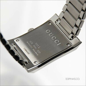 【ペアウォッチ】GUCCIグッチペア腕時計シルバー角形YA111302&YA111501/834825&751617[WAT05]