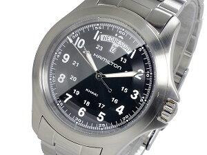 ハミルトンHAMILTONカーキキングKHAKIKINGクオーツメンズ腕時計H64451133