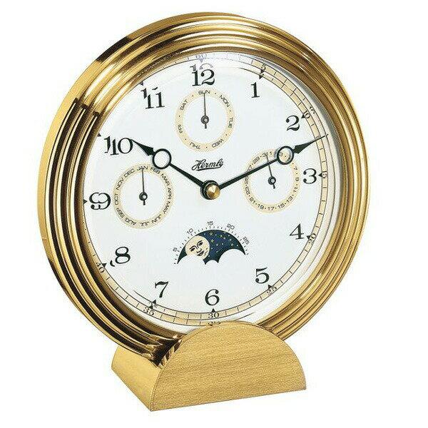 【正規輸入品】ドイツ ヘルムレ HERMLE 22641-002100 クオーツ置時計 ゴールド  [大型サイズ]:時計のソフィアス