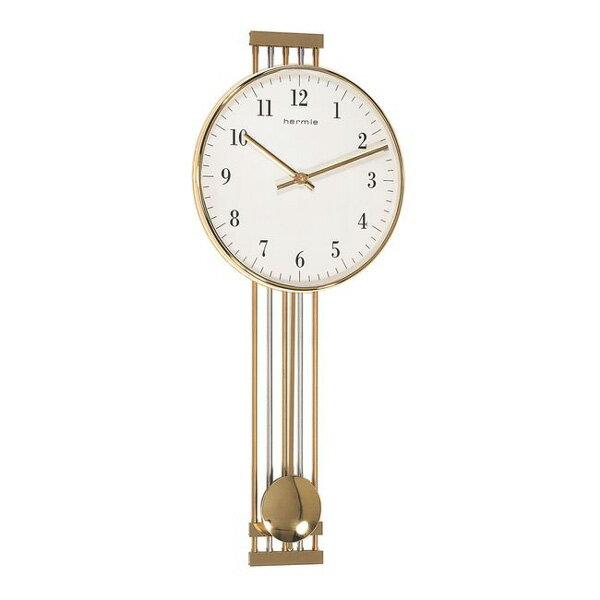 【正規輸入品】ドイツ ヘルムレ HERMLE 70722-002200 クオーツ掛け時計 ゴールド  [大型サイズ]:時計のソフィアス