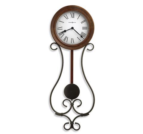 【正規輸入品】 アメリカ ハワードミラー 625-400 HOWARD MILLER YVONNE クオーツ式掛け時計 [大型サイズ]:時計のソフィアス