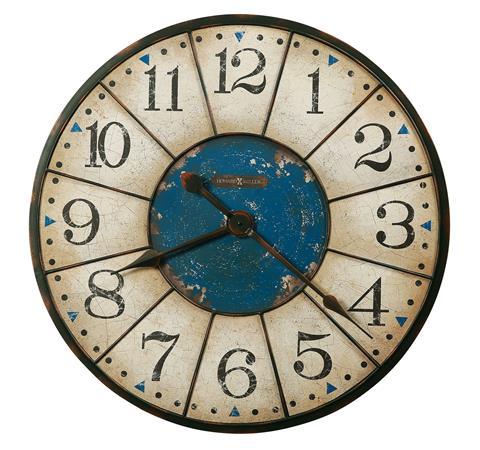 【正規輸入品】 アメリカ ハワードミラー 625-567 HOWARD MILLER BALTO クオーツ式掛け時計 [大型サイズ]:時計のソフィアス