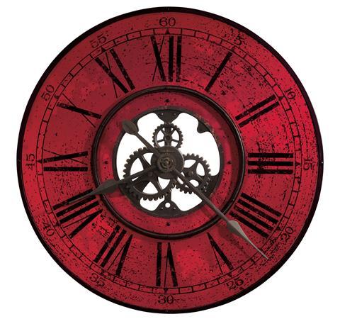 【正規輸入品】 アメリカ ハワードミラー 625-569 HOWARD MILLER BRASSWORKS II クオーツ式掛け時計 [大型サイズ]:時計のソフィアス