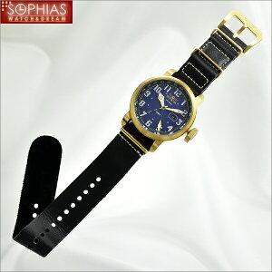 INVICTAインビクタメンズ腕時計18889AVIATORアビエーターブルー×ゴールド