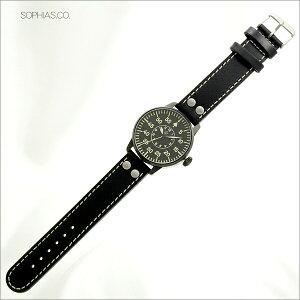 ラコLaco腕時計861760パイロット21系自動巻シリーズBielefeldビーレフェルトメンズ