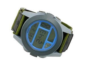 ニクソンNIXONバジャBAJAデジタルメンズ腕時計A489027ブラック×グリーン[ST]