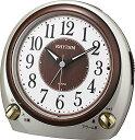 リズム時計 クロック クオーツ めざまし時計 (目覚まし時計) 8RA641SR18 デュアルサウンドR641 シャンペンゴールド 【記念品 贈答品 名入れ承ります】【熨斗印刷承ります】