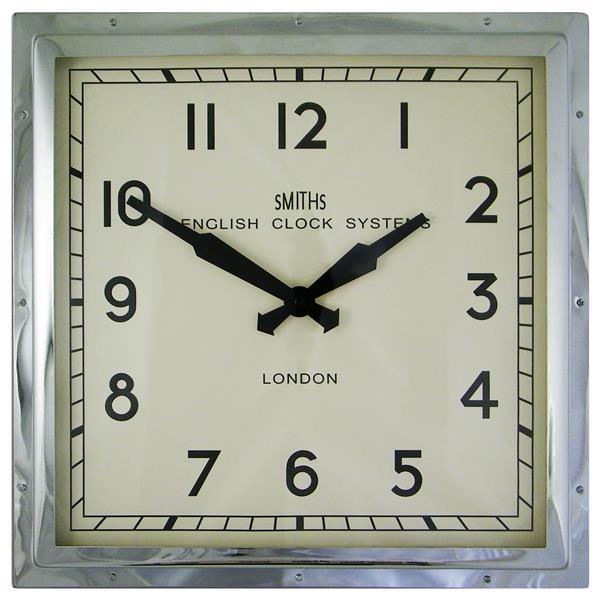 【正規輸入品】 イギリス ロジャーラッセル SM/ENGLISH/CHROME ROGER LASCELLES 掛け時計 スミスデザイン:時計のソフィアス