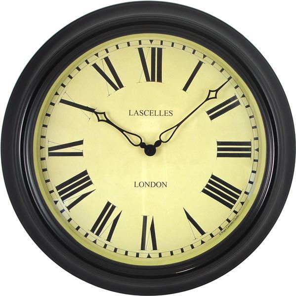【正規輸入品】 イギリス ロジャーラッセル TS/STATION/BLACK ROGER LASCELLES 掛け時計 ステーションクロック:時計のソフィアス
