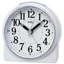 セイコー クロック クオーツ NR439W めざまし時計 (目覚まし時計) ピクシス スタンダード 白パール 【記念品 贈答品 名入れ承ります】【熨斗印刷承ります】