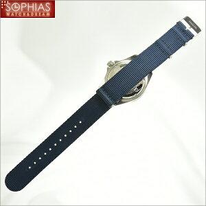 スイスミリタリー腕時計ML414NAVYブラック×ネイビーメンズ
