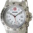 ウェンガー 腕時計 72617 海外モデル マウンテイナー ホワイト×シルバー メンズ [SB]