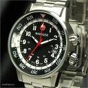 ウェンガー WENGER Commando GMT コマンド GMT メタルベルト メンズ腕時計 74746