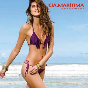 11a417546cf MARITIMA カンパーニャ マリッチマ◇ブラジル インポート水着 ビーチウエア 三角ビキニ Tバック 無地
