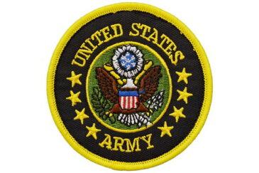 【送料無料 メール便発送商品】 UNITED STATES ARMY アメリカ陸軍 US.ARMY 紋章 部隊 パッチ ワッペン ベルクロ付き 面ファスナー付