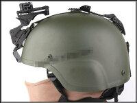 MICHミッチ用ナイトビジョンマウントヘルメットアダプターセットNVGブラック黒