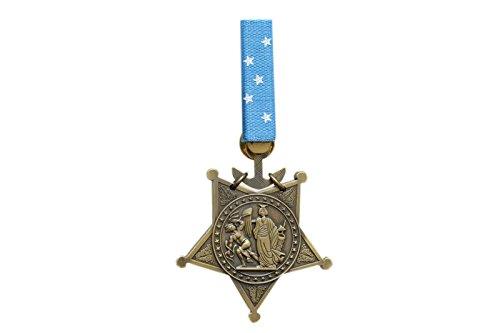 【送料無料 メール便発送商品】81 アメリカ軍 海軍 栄誉勲章 メダル・オブ・オナー レプリカ 黒色