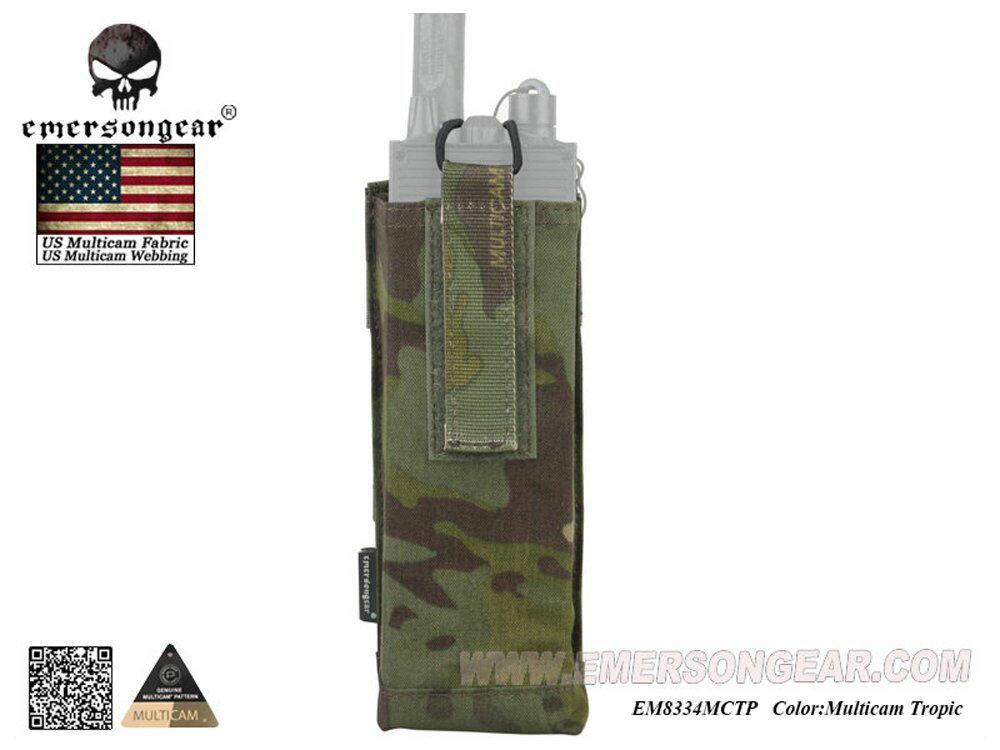 装備・備品, ポーチ・バッグ EMERSON CP AVS PRC-148 PRC-152 MultiCam Tropic