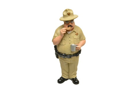 1/18 American Diorama The Trailer Parkシリーズ SMOKEY キャンプ場 フィギュア 模型