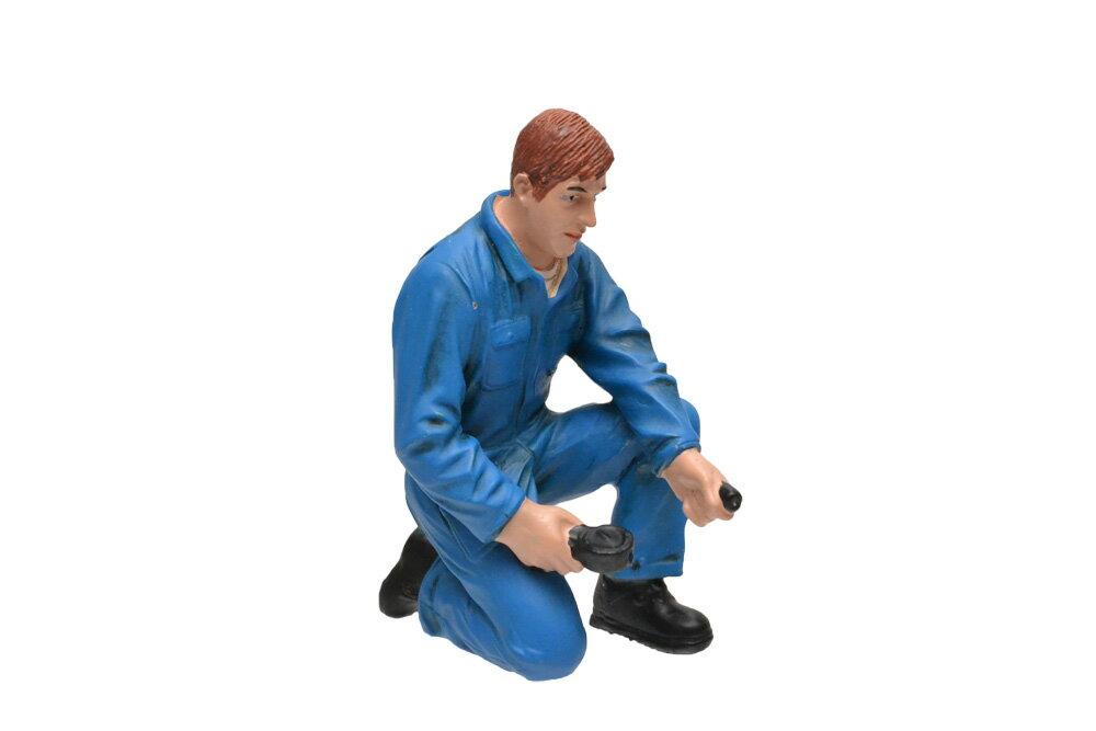 コレクション, フィギュア 118 American Diorama Mechanic - Tony inflating tire