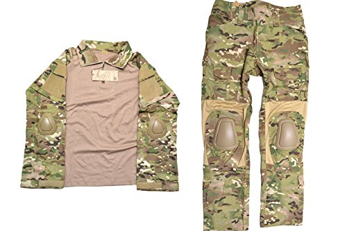 EMERSON製 CRYEタイプ G2 第2世代 コンバット迷彩服 上下セット 戦闘服 マルチカモ