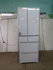 ■2018年日立505L6ドア冷凍冷蔵庫R-XG5100H[0225AH]7CYK!-3【中古】【RCP】
