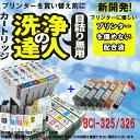 【洗浄の達人】キヤノン BCI-326 (BK/C/M/Y/GY)+BCI-325 洗浄液とインクのセット プリンター目詰まりヘッドクリーニング6個【】