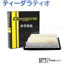 G-Parts エアフィルター 日産 ティーダラティオ 型式SC11用 L...