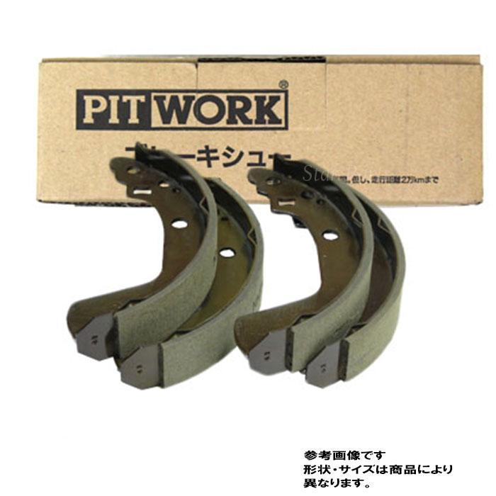 ブレーキ, ブレーキシュー  R MA34S AY360-KE040 PITWORK 53200-76G00 53200-76G31 76200-76G51