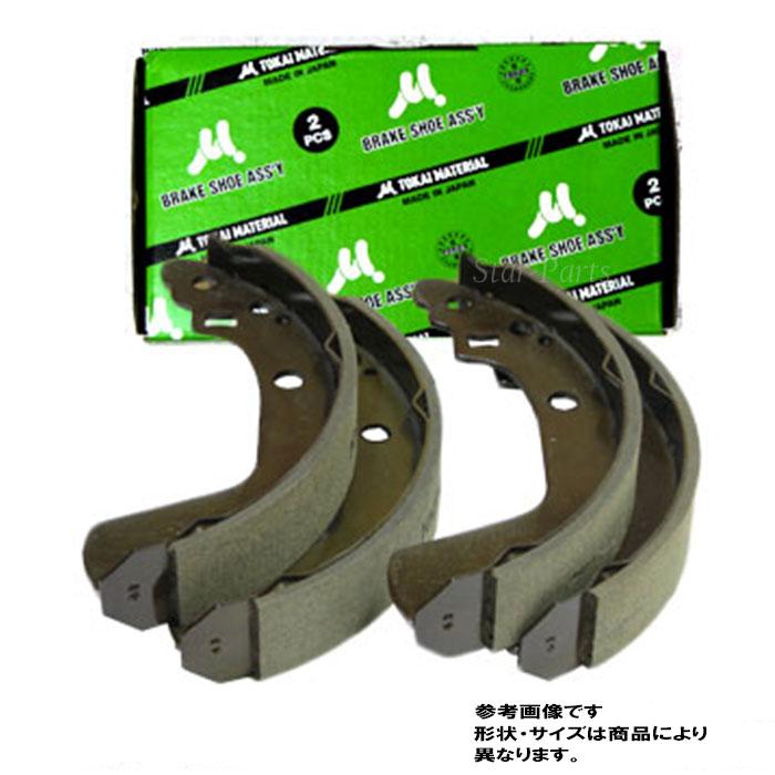 ブレーキ, ブレーキシュー  R MC22S SN9932 TOKAI 53200-76G00 53200-76G31 76200-76G51