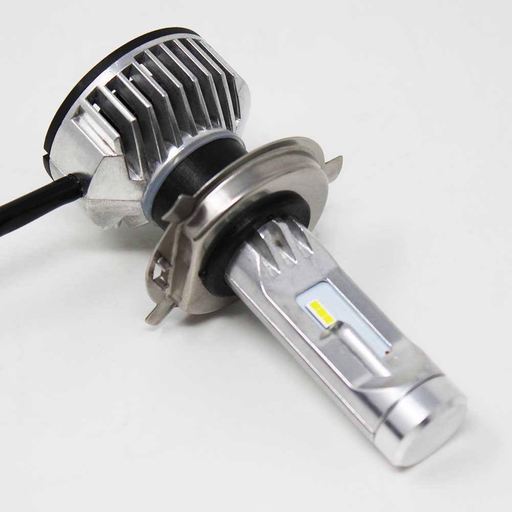 【 あす楽】 H4対応 ヘッドライト用LED電球 トヨタ ランドクルーザー80 型式FJ80G/FZJ80G/HDJ81V/HZJ81V ヘッドライトのロービーム用 Hi/Low切替 左右セット車検対応 6000K | 純正交換タイプ 純正交換バルブ 高輝度 雨にも強い 【即納】