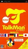 【中古】PSP TALKMAN EURO -トークマンヨーロッパ言語版- ソフト単体版