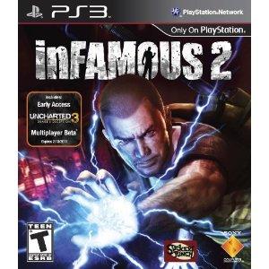 【予約受付中!!】新品PS3 inFAMOUS 2 / インファマス 2 【海外北米版】