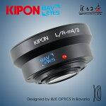 KIPONBAVEYESL/R-m4/30.7xライカRマウントレンズ-マイクロフォーサーズマウントフォーカルレデューサーアダプター