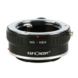 K&F Concept レンズマウントアダプター KF-MDE-T (ミノルタMD・MC│SRマウントレンズ → ソニーEマウント変換)三脚座付き