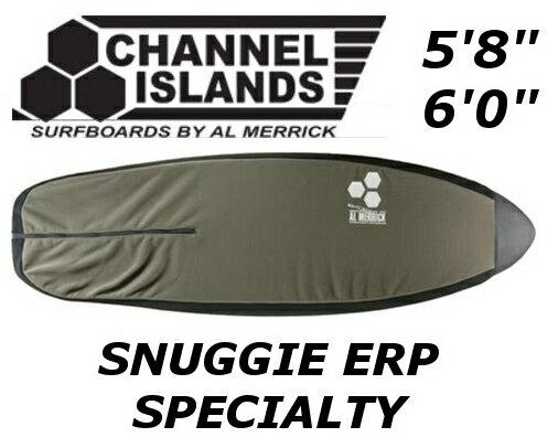 CHANNEL ISLANDS SNUGGIE ERP SPECIALTY チャンネルアイランド ショートボード フリースケース ソフトケース ニットケース AL MERRICK アル・メリック フィッシュ レトロ画像